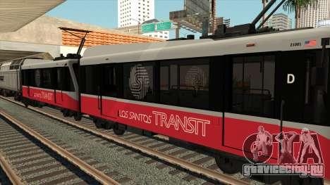 Вагон GTA V Metro Train для GTA San Andreas