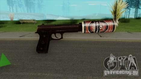 Desert Eagle BALTIKA Edition для GTA San Andreas