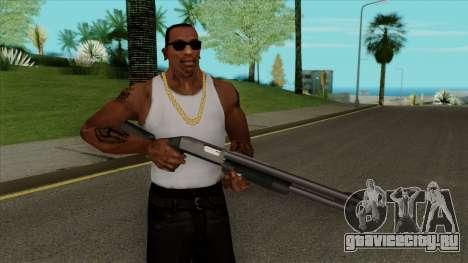 Сhromegun Default HQ для GTA San Andreas