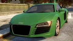 Audi R8 4.2FSI 2008 для GTA 4