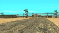 Area 51 with GTA 5 textures для GTA San Andreas