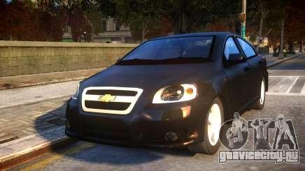 Chevrolet Aveo для GTA 4
