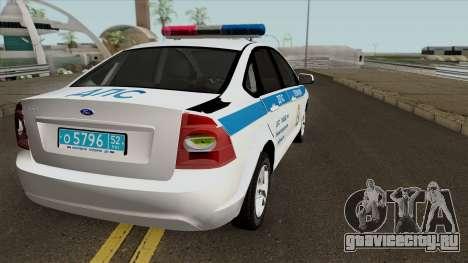 Ford Focus 2009 ДПС Нижегородской Области для GTA San Andreas