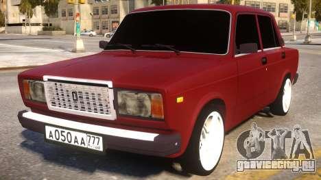 ВАЗ 2107 Классика для GTA 4