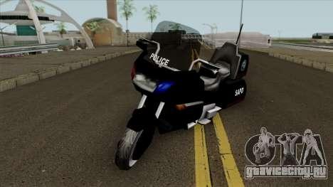 New Police Bike Classic для GTA San Andreas