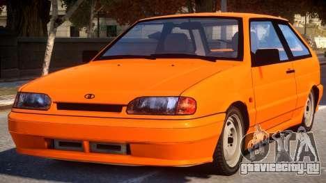 ВАЗ 2113 Оранжевый для GTA 4