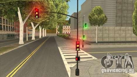 New Street Lights Electrica для GTA San Andreas
