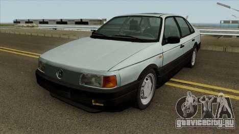 VW Passat B3 v2 SA Plates IVF для GTA San Andreas