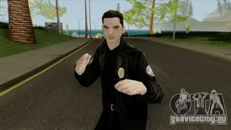 New lapd1 Police Officer для GTA San Andreas