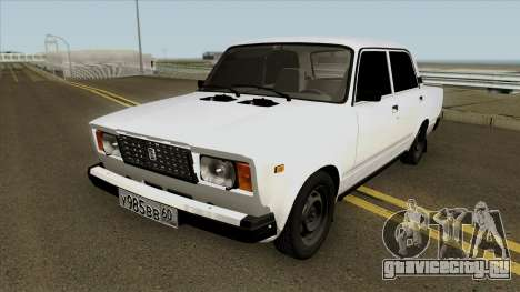 VAZ 2107 GVR для GTA San Andreas