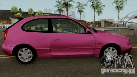 Toyota Corolla G6 Compact e110 для GTA San Andreas вид сзади