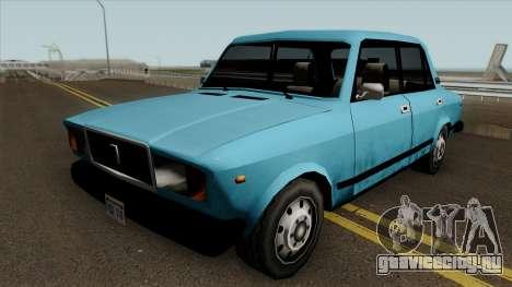 ВАЗ 2107 в стиле SA для GTA San Andreas