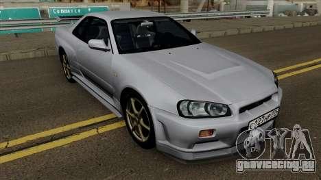 Nissan Skyline R34 0.1 для GTA San Andreas