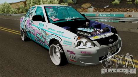 ВАЗ 2170 Приора (Japan Drift Itasha) для GTA San Andreas