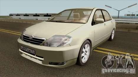Toyota Corolla Sedan 2000 для GTA San Andreas