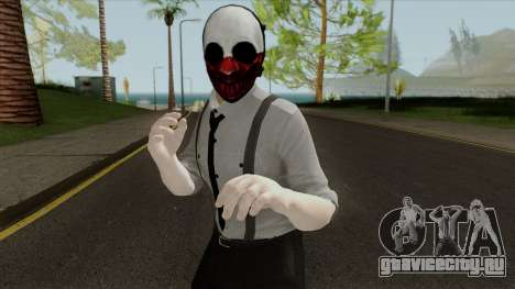 Payday 2 Wolf Reservoir Dogs (Fan Made) для GTA San Andreas