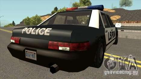 Echo Police SA Style для GTA San Andreas вид справа