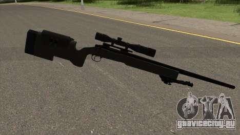 Modern Warfare Remastered M40A3 для GTA San Andreas второй скриншот