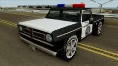 Полицейский Sadler для GTA San Andreas
