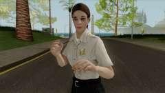 Полицейская девушка HD для GTA San Andreas