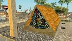 Церковь с соломенной крышей в Jefferson для GTA San Andreas