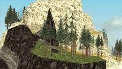 Mount Chilliad Retextured для GTA San Andreas