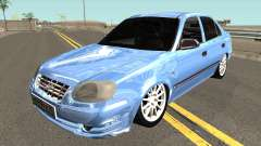 Hyundai Accent 2004 Sedan для GTA San Andreas