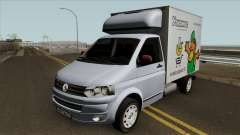 Volkswagen Transporter T5 Box для GTA San Andreas