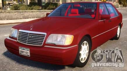 Mercedes-Benz S600L W140 для GTA 4