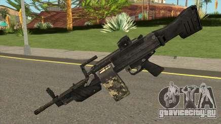 MG 4 from Warface для GTA San Andreas