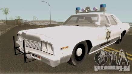Dodge Monaco Hazzard County Sheriff для GTA San Andreas