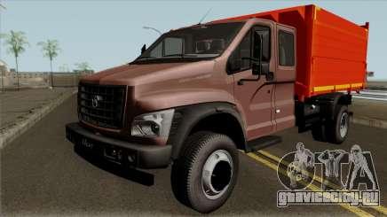 ГАЗон NEXT САЗ-2507 с Большой Кабиной для GTA San Andreas