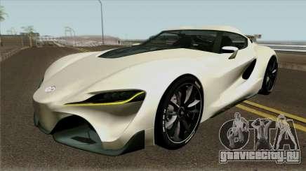 Toyota Supra FT-1 Concept 2014 для GTA San Andreas