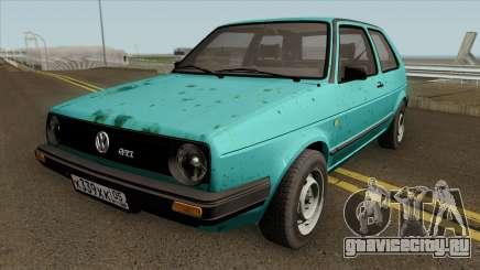 Volkswagen Golf MK2 Rusty для GTA San Andreas