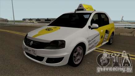Renault Logan Яндекс Такси для GTA San Andreas