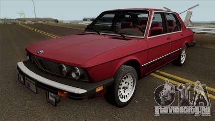 BMW 535i (e28) 1985 US-spec для GTA San Andreas