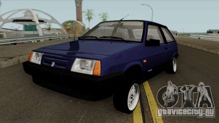 VAZ 2108 Stance Blue для GTA San Andreas