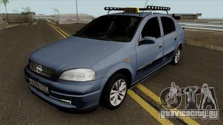 Opel Astra G 1999 Taxi Baggage для GTA San Andreas
