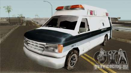 Carcer City Ambulance для GTA San Andreas