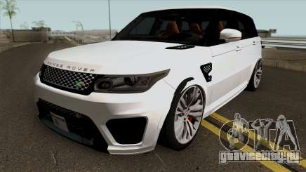 Land Rover Range Rover Sport SVR White для GTA San Andreas