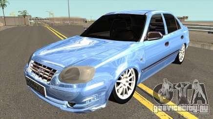 Hyundai Accent 2004 Sedan для GTA San Andreas