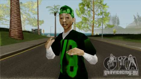 New Gangrl3 для GTA San Andreas