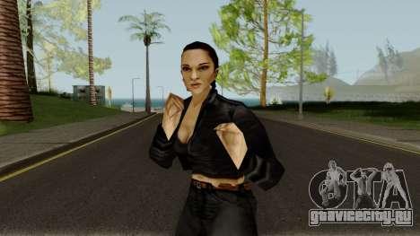 Catalina from GTA 3 для GTA San Andreas
