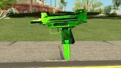 Retextured Uzi для GTA San Andreas