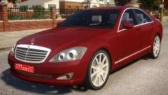 Mercedes-Benz S600 W221 Red для GTA 4