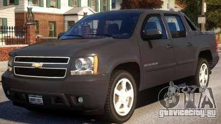 Chevrolet Avalanche 2007 для GTA 4