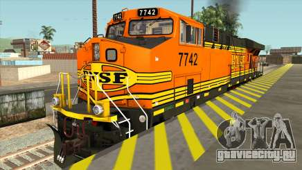 GE ES44DC - BNSF Locomotive для GTA San Andreas
