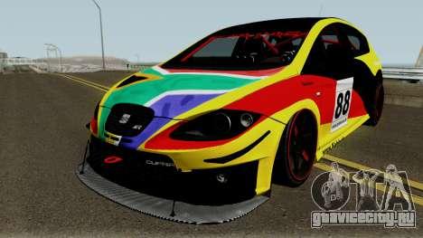 Seat Leon Cupra R для GTA San Andreas вид сверху