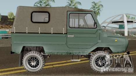 ЛуАЗ-969М v3 для GTA San Andreas вид сзади