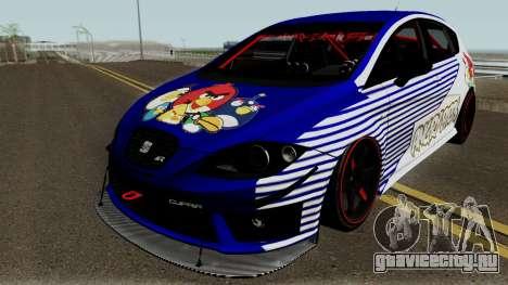 Seat Leon Cupra R для GTA San Andreas вид снизу